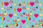 Owls Customized 100 Wrapping Sheets