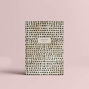 Personalised Hardbound Journal Polka