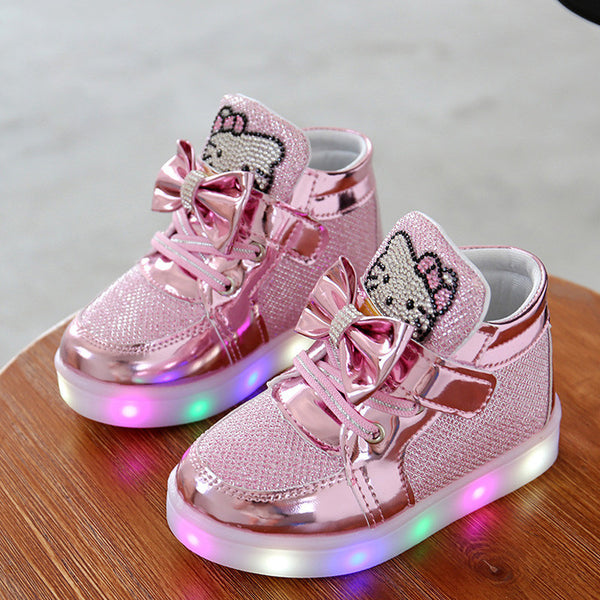 Baby LED Light Anti-Slip Shoes