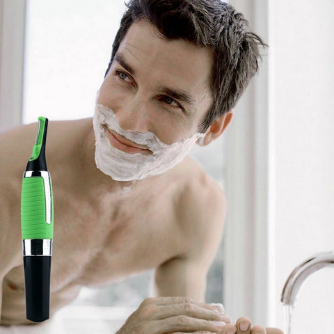 Precision LED Facial Hair Trimmer