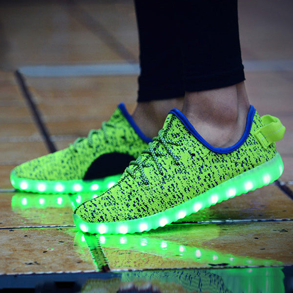 LED luminous light up shoe