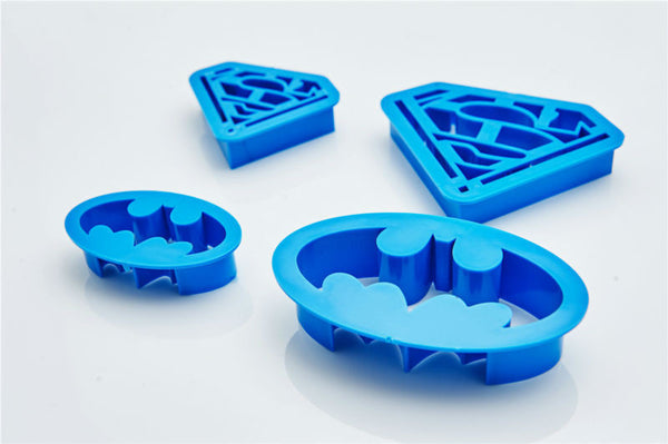 Batman Superman Family Baking Biscuit Mold