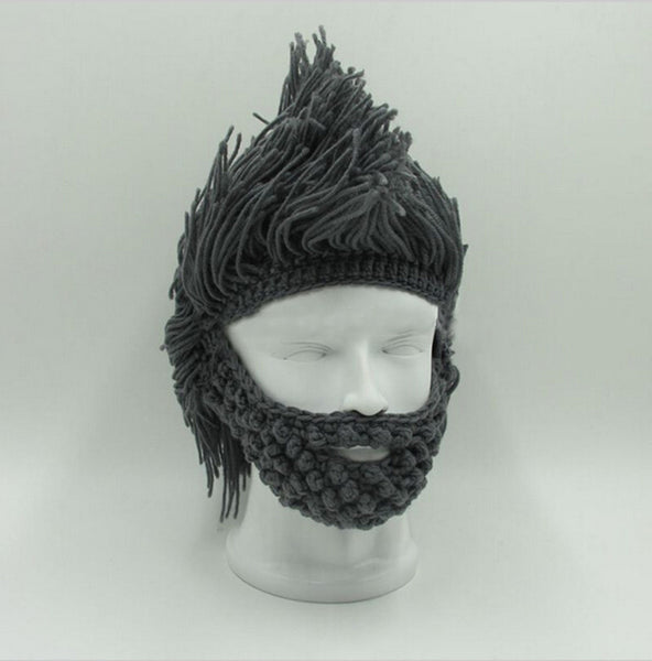 Beard Mask Face Outdoor Hat
