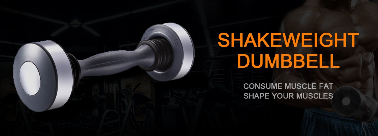 Shake-Weight Dumbbell for Men Women