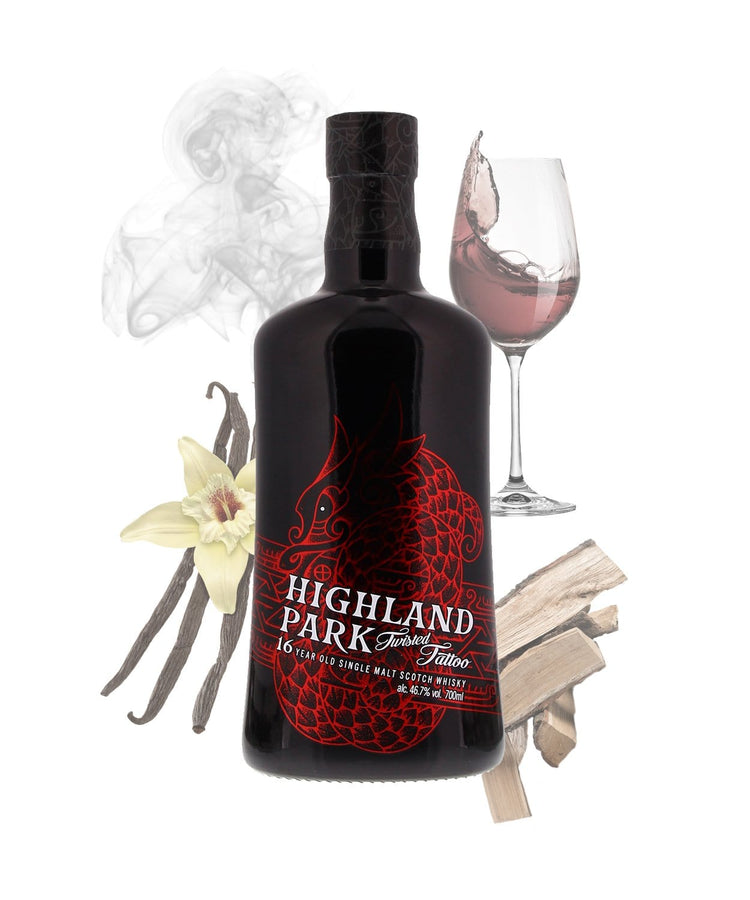 Tastillery Highland Park Twisted Tattoo Whisky