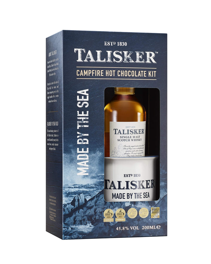 Talisker 10 Campfire Hot Chocolate Set