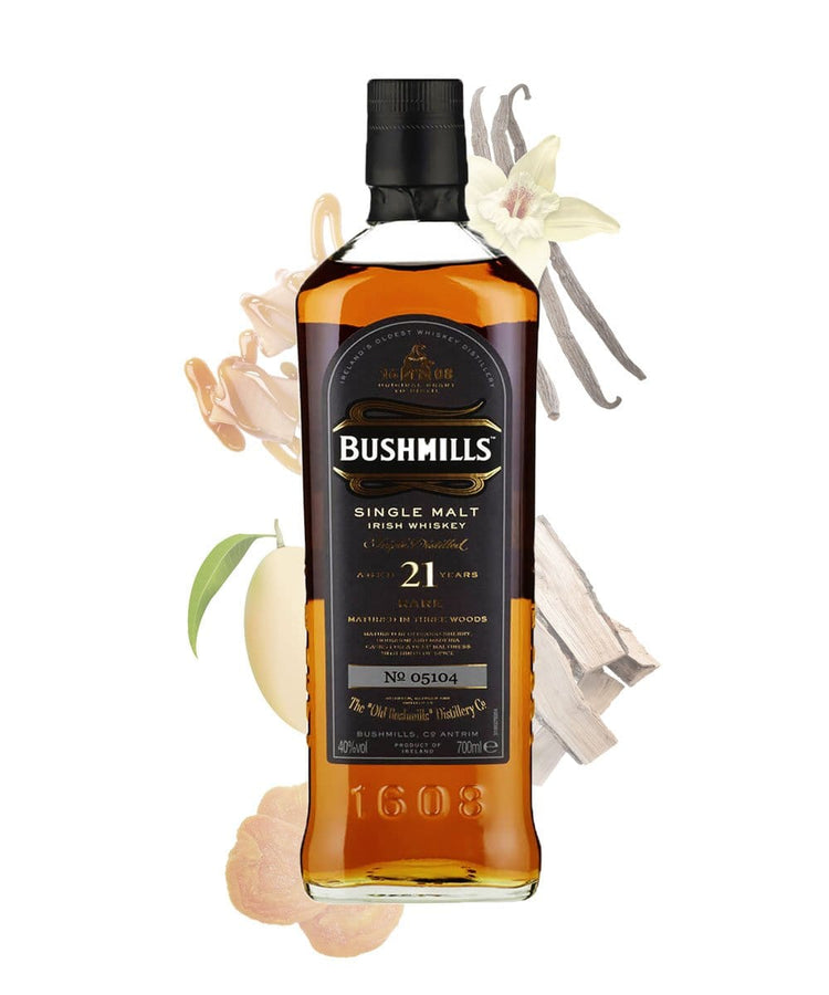 Bushmills Madeira Finish 21