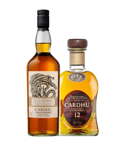 """Game of Thrones"" Cardhu Gold Reserve Whisky Bundle"