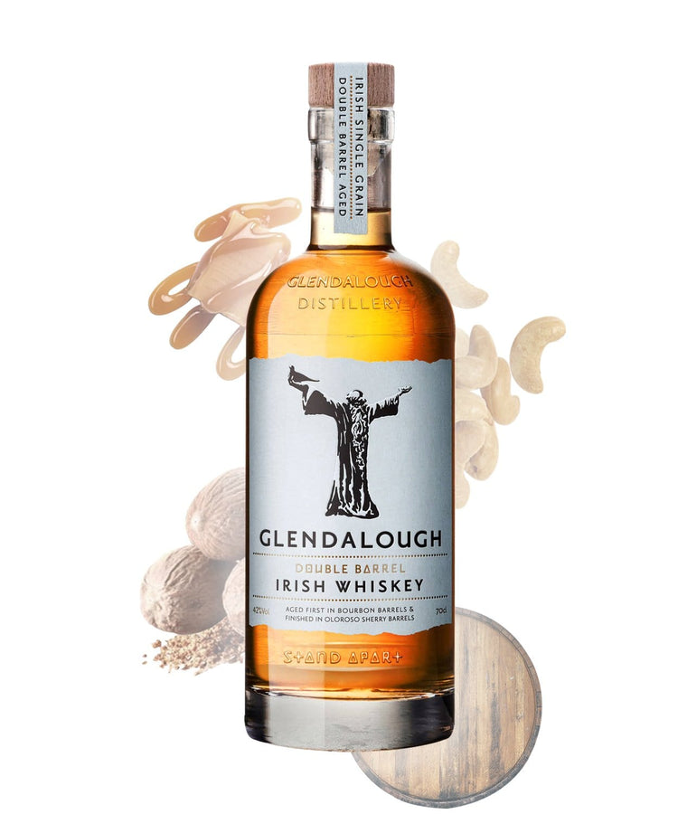 Tastillery Glendalough Double Barrel Single Grain Irish Whiskey