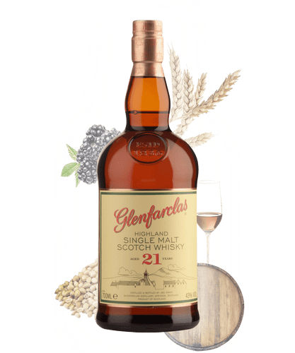 Tastillery Glenfarclas 21 Scotch Whisky
