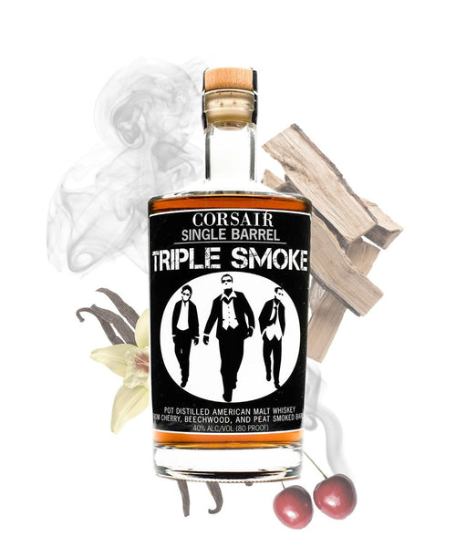 Corsair Triple Smoke Whiskey