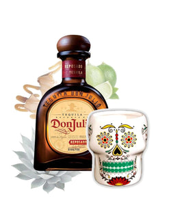 Don Julio Reposado inkl. Gratis Totenkopfbecher