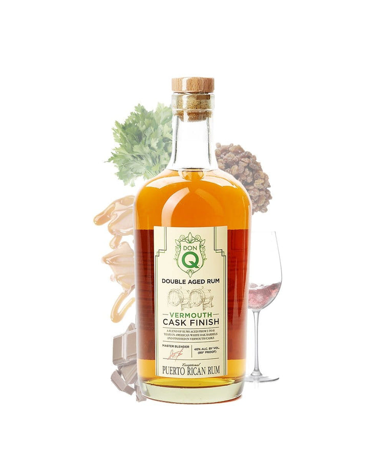 Don Q Double Aged Rum Vermouth Cask Finish
