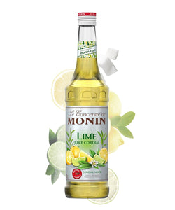 Monin Lime Juice Cordial Mixed