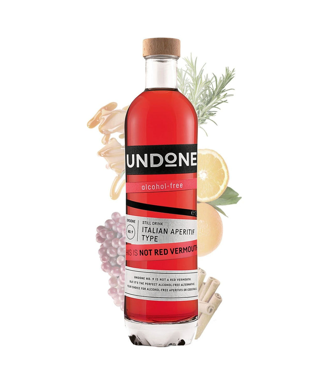 UNDONE This is NOT Red Vermouth! NO.9 Italian Aperitif Type