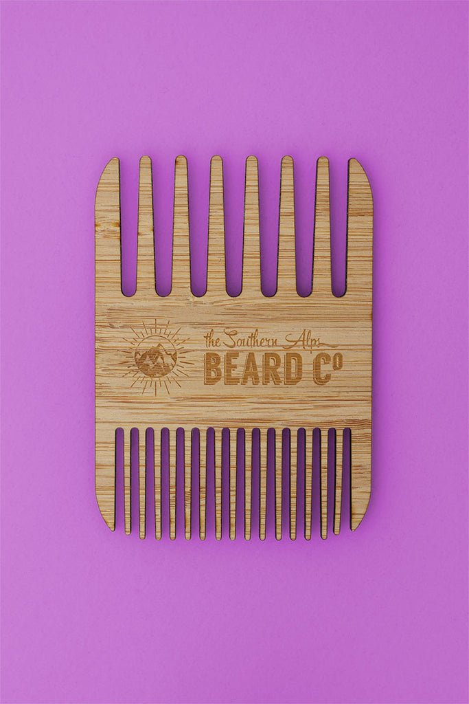 Sustainable Bamboo Beard Comb