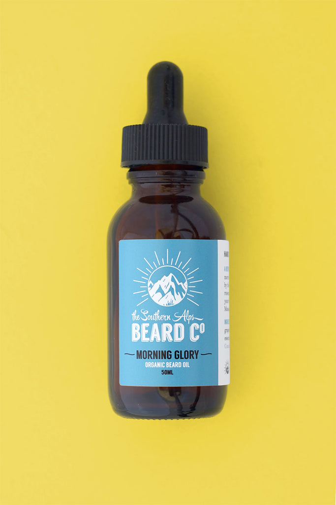 Morning Glory Organic Beard Oil