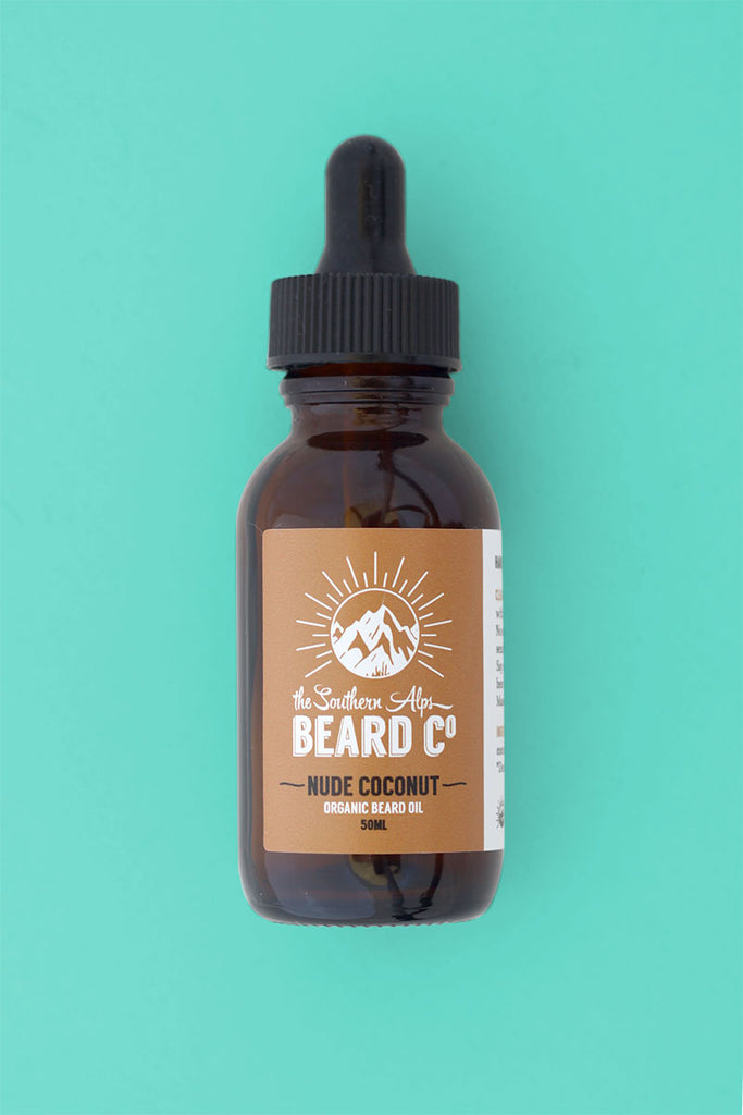 Nude Coconut Organic Beard Oil