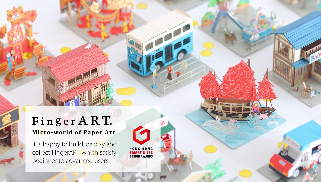 FingerART Paper Art Model