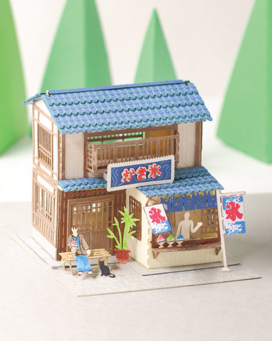 Shaved Ice House - FingerART Scene of Japan - POSTalk