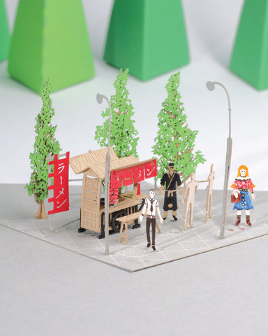 Yatai - FingerART Paper Art Model with Plastic Box (SJ-523) - POSTalk