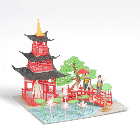 Sanjuunotou - FingerART Paper Art Model with Plastic Box (SJ-512) - POSTalk