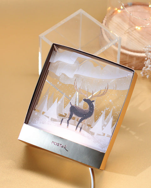 Deer in Snow InSpace - POSTalk