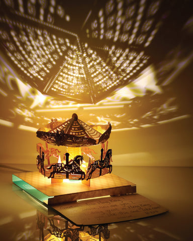 POSTalk Merry Go Round Light Model