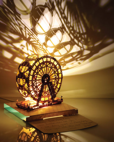 POSTalk Ferris Wheel Light Model