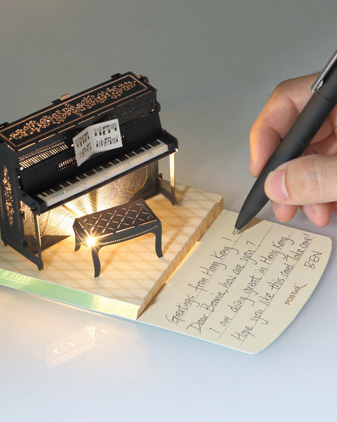 POSTalk Piano Light Model - writing