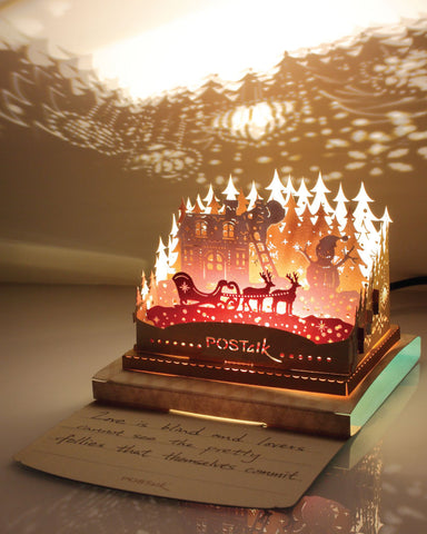 X'mas Night Light Model - POSTalk