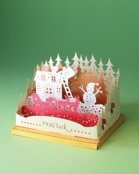 X'mas Night (X'mas Series) - POSTalk Light Model (LM23) - POSTalk
