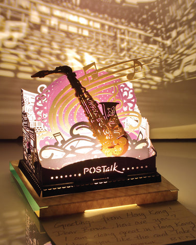 Saxophone Light Model