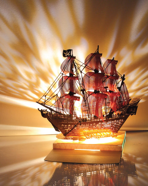 Pirate Ship Light Model - Color version - POSTalk