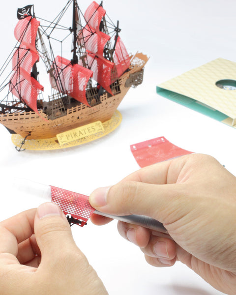 POSTalk Light Model - Pirate Ship assembly