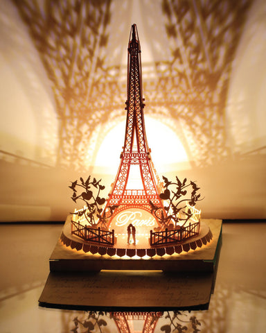 Eiffel Tower Light Model - Couple in Love Series - POSTalk