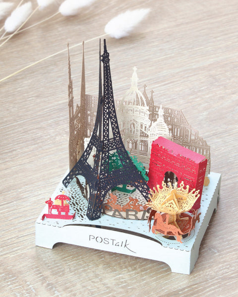 POSTalk Paris Light Model - Traveler Series show