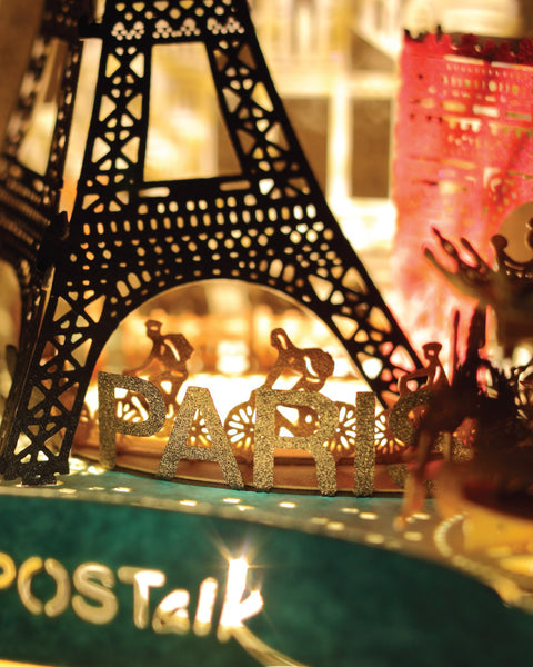 POSTalk Paris Light Model - Traveler Series Lighting