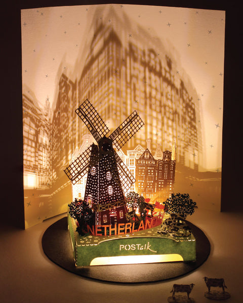 Netherlands Light Model - Traveler Series - POSTalk