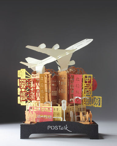 Kai Tak Airport - POSTalk Traveler Light Model (TL-12) - POSTalk