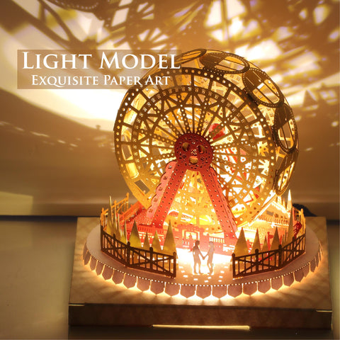 Ferris Wheel (Couple in Love Series) - POSTalk Light Model (LM47) - POSTalk
