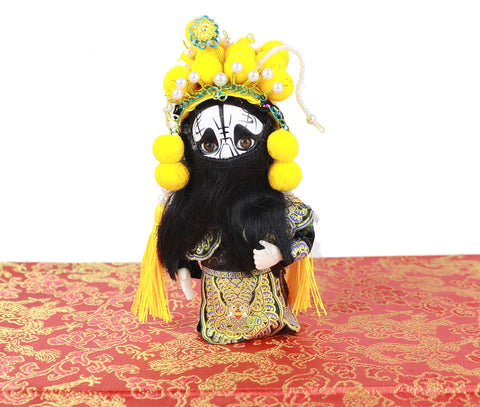 Chinese Peking Opera Doll Farewell to My Concubine Chu King Tourist Souvenir.