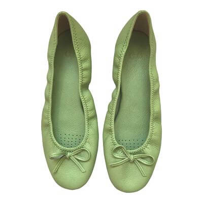 Japanese ballerina shoes - Green