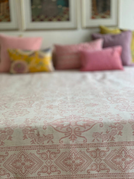 Syrian Bedspread - Double Bed -Rose