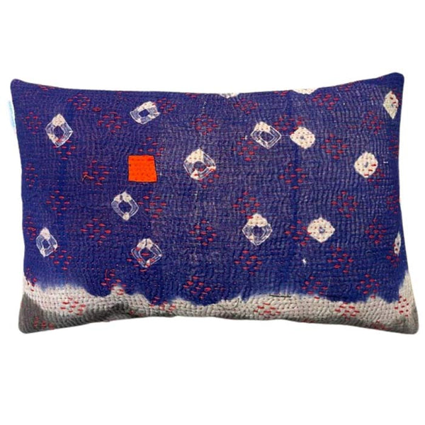 Sari Gudri Cushion Purple 50x30 cm