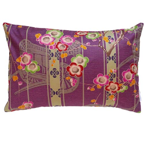 Japan Cushion Graphic Purple 50x30