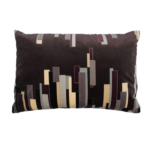 Kenzo House Cushion Dark Brown 60x40 cm