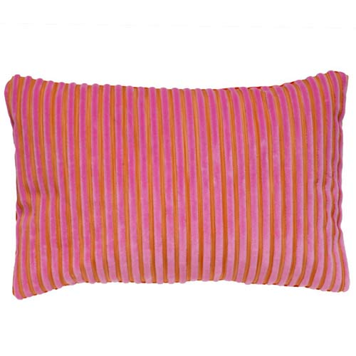Kenzo Limited Edition Pude Pink and Orange Stripes 50x30 - Grønlykke.com