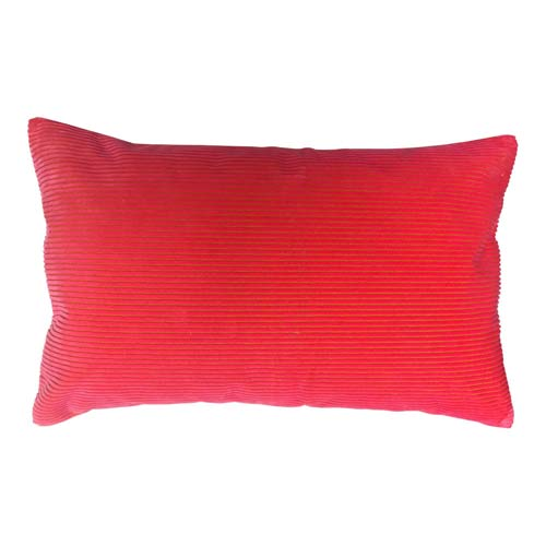 Kenzo Limited Edition Cushion Red Corduroy 50x30 cm
