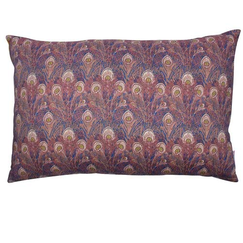 Liberty Cushion Hera Blue Feathers 50x30 cm